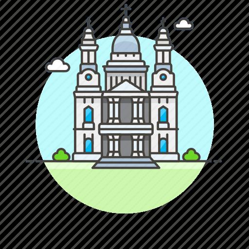 architecture, cathedral, famous, landmark, london, monument, pauls, saint icon