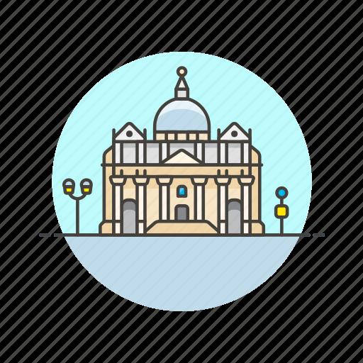 architecture, basilica, christian, famous, landmark, monument, peters, saint icon