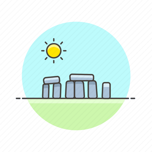 architecture, famous, landmark, monument, rock, stonehenge, uk icon