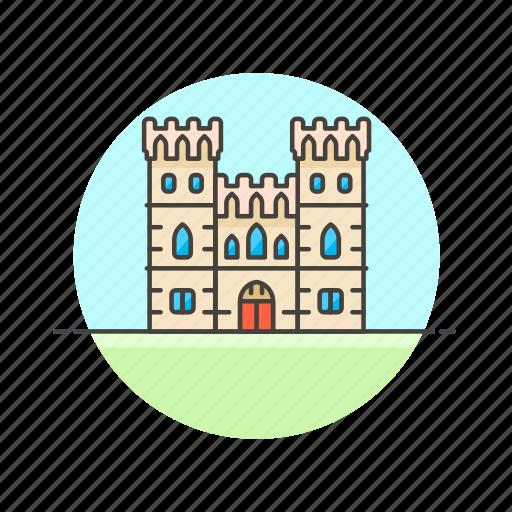 architecture, berkshire, castle, famous, landmark, monument, uk, windsor icon