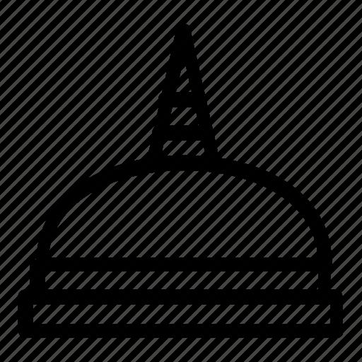 indonesia, landmarks icon