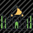 india, landmark, taj mahal, traveling icon