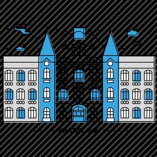 architecture, bratislava, building, capital, landmark, monument, state icon