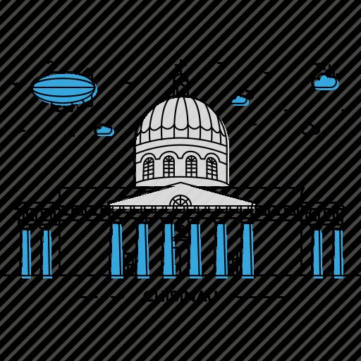 architecture, building, capital, chisinau, landmark, monument, state icon
