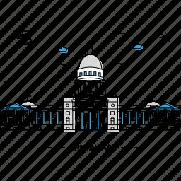architecture, arkansas, building, capital, landmark, monument, state icon