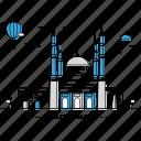 beirut, building, capital, landmark, lebanon, monument, state icon