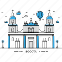 architecture, bogota, building, capital, landmark, monument, state icon