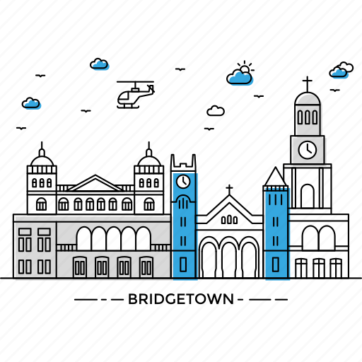 architecture, bridgetown, building, capital, landmark, monument, state icon