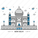 architecture, building, capital, delhi, landmark, monument, state icon