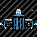 architecture, building, capital, kansas, landmark, monument, state icon