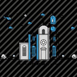 architecture, building, capital, landmark, monument, state, stockholm icon