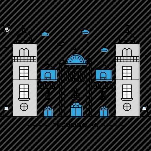 architecture, building, capital, landmark, monument, state, tegucigalpa icon