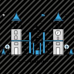 architecture, building, capital, landmark, monument, state, valletta icon