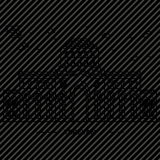 architecture, building, capital, landmark, monument, state, yerevan icon