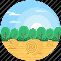 cityscape, desert, environment, landforms, valley icon