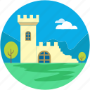 castle, castle tower, sand castle, fortress, medieval