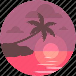 cape, landscape, nature, ocean, sea icon