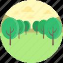 environment, forestland, landforms, park, plantation