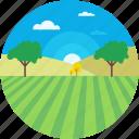 cloud, countryside, environment, garden, terrain