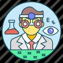 doctor, ophthalmologist, optician, optometric physician, optometrist icon