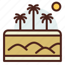 desert, nature, outdoor, travel icon