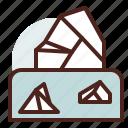 iceberg, nature, outdoor, travel icon