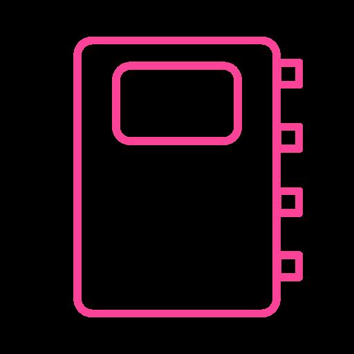 agenda, dictionary, journal, scrapbook icon
