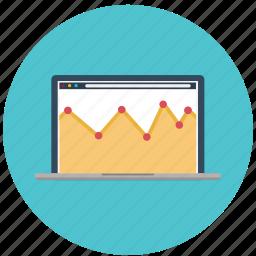 analytics, chart, graph, marketing, presentation, seo, statistics icon