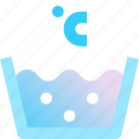 clean, laundry, temp, temperature, water icon