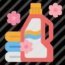 cleaning, housekeeping, laundry, softener, washing icon