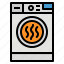 device, dryer, electric, furniture, tumble icon