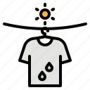 clothes, garment, laundry, shirts, wash icon
