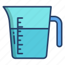 measuring, jug