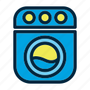 clothing, dress, laundry, machine, wash, washing icon