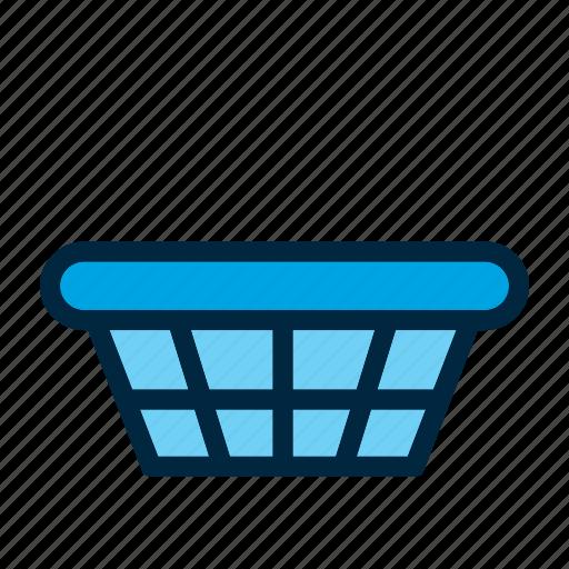 basket, clothing, dress, laundry, wash, washing icon