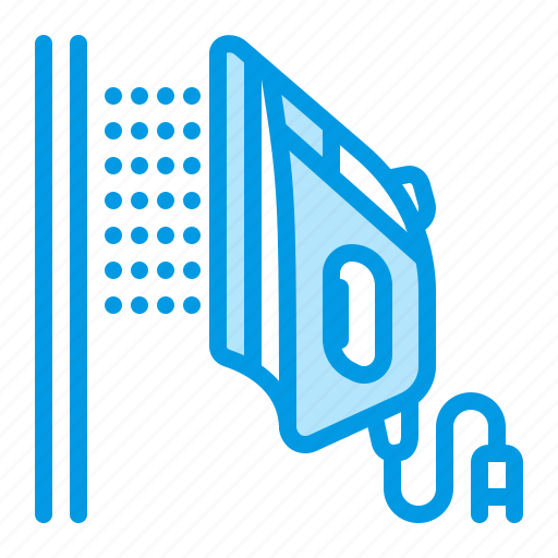 clothes, iron, ironing, steaming icon