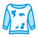 clothes, dirty, laundry, removal, stain icon