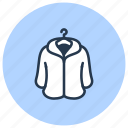 drycleaning, coat, cleaning, c, fur, dry icon