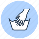 c, drycleaning, hand, laundry, wash, washing icon