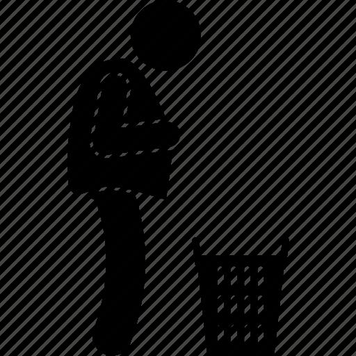 cloth, man, shirt, wearing icon