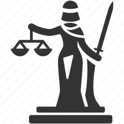 court, goddess, judge, judiciary, justice, lady justice, tribunal icon