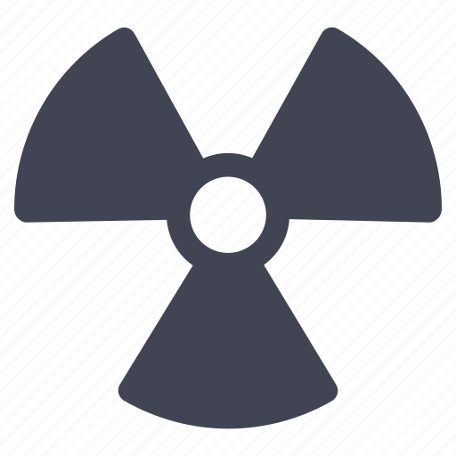 crime, danger, law, nuclear, radiation icon