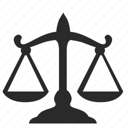 court, fight, justice, scales icon