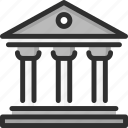 building, column, justice, law