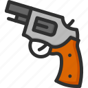 gun, justice, law, pistol, weapon icon