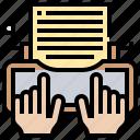 copyright, equipment, machine, secretary, typewriter