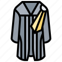 justice, law, lawyer, legal, uniform icon