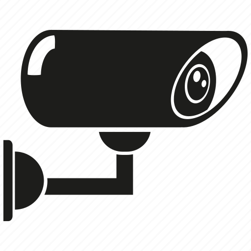 camera, cctv, electronic, record, secure icon