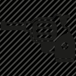 gun, revolver, weapon icon
