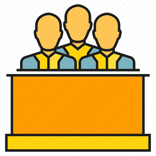 arbiter, arbitrator, court, judge, judiciary, juror, squire icon